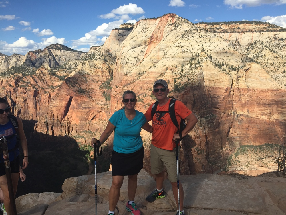 Summit - Angel's Landing - Zion National Park