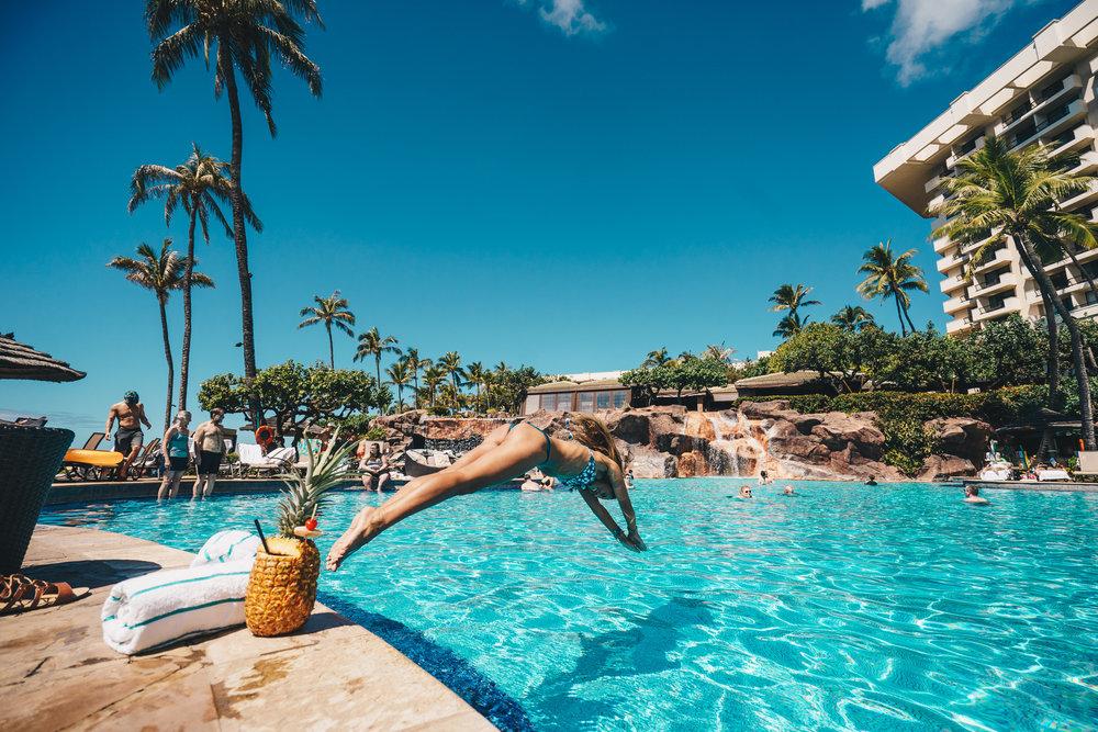 Pool_Jump_Hyatt_Maui