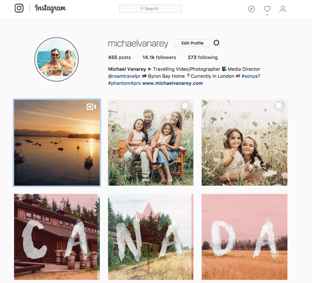 THREE IMAGE BANNER FOR INSTAGRAM USING PHOTOSHOP