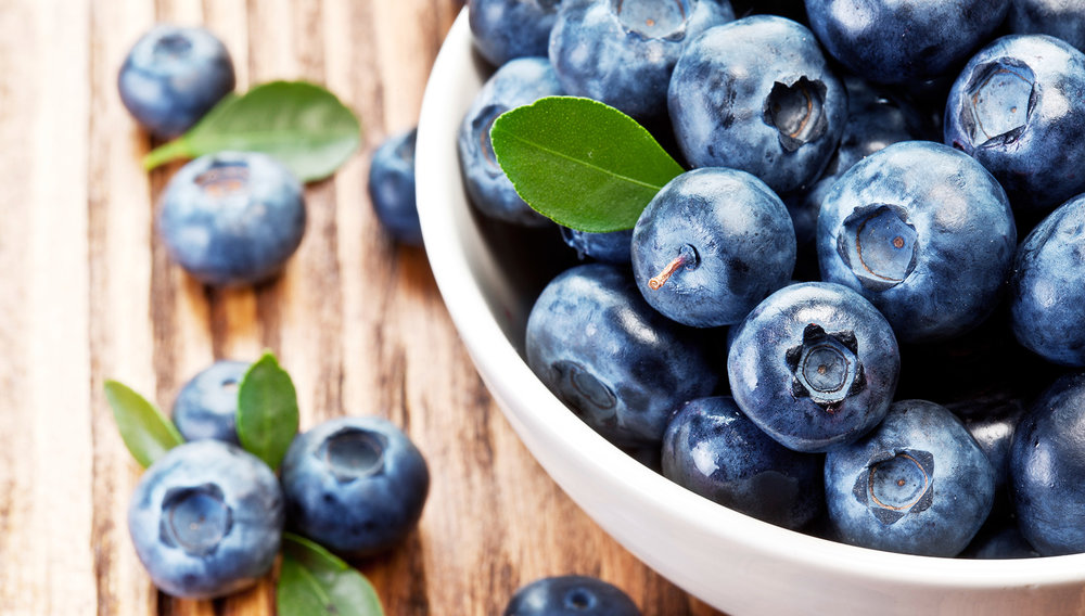 "Blueberries - Make things ""harder"" in a good way! According to a joint study from the University of East Anglia and Harvard University, eating flavonoid-rich foods is associated with a reduced risk of ED in men."