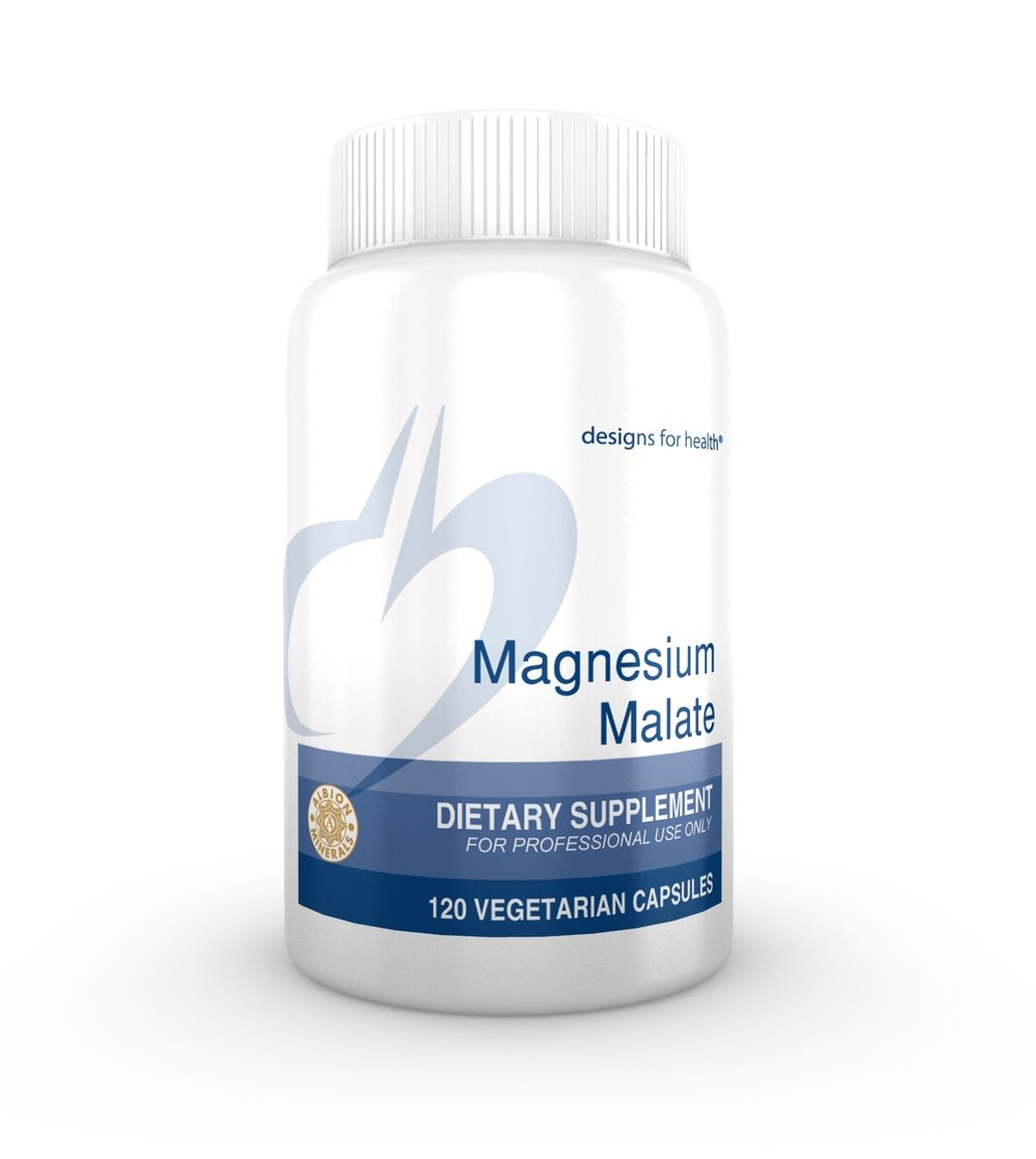 DFH Magnesium Malate - This may be effective for helping with chronic fatigue syndrome and/or fibromyalgia.