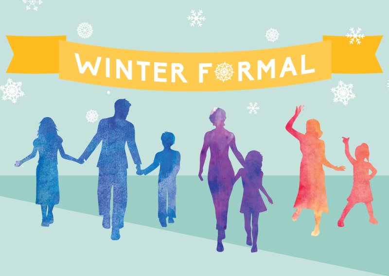 k-6 Winter formal Dance Friday, february 17 at 6:30PM