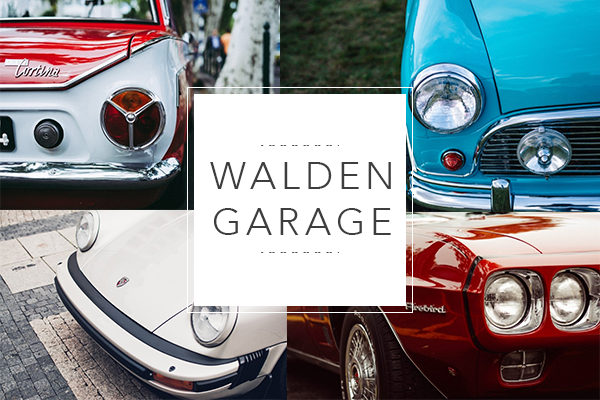 WaLden Garage - Car Meet & Greet Saturday, June 17 • 10:00AM - 1:00PM • RSVP