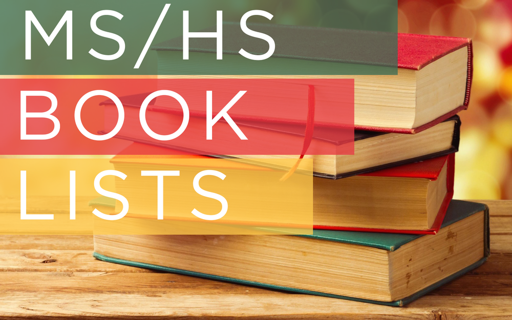 2017/18 MS & HS BOOKLISTS NOW AVAILABLE VIEW BOOK LISTINGS