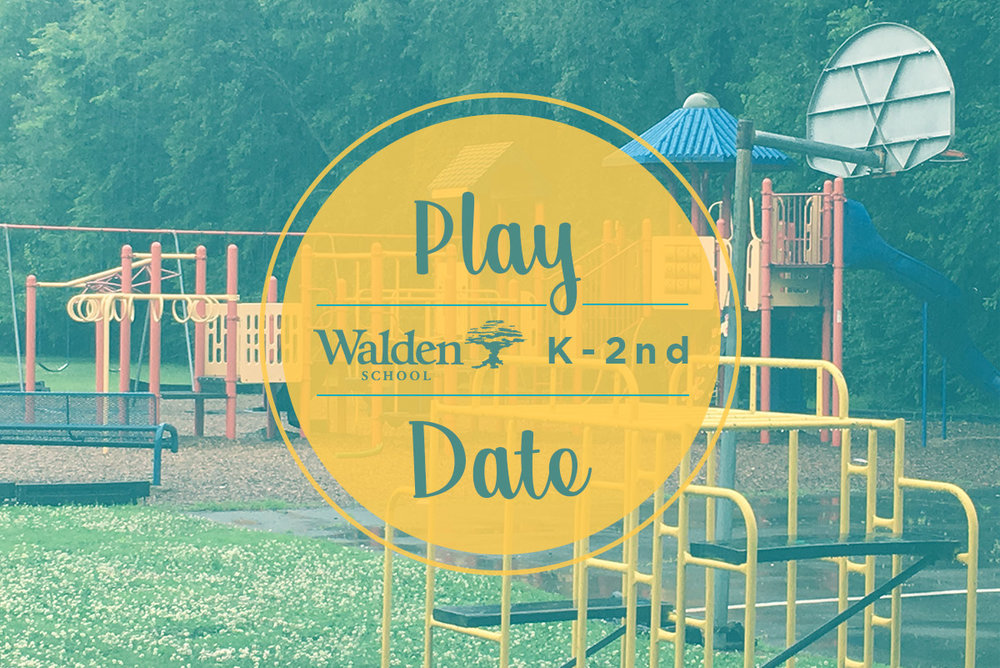 K-2nd GRADE Play Date - Walden Playground Saturday, August 5: 9:00-10:30AM / RSVP + SHARE