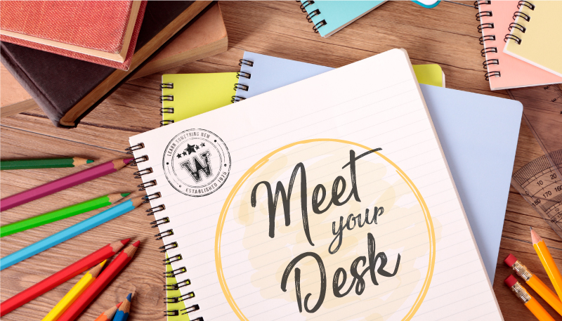 MEET YOUR DESK: K-12 FRIDAY, AUGUST 11:  4:00-6:00PM / RSVP + SHARE