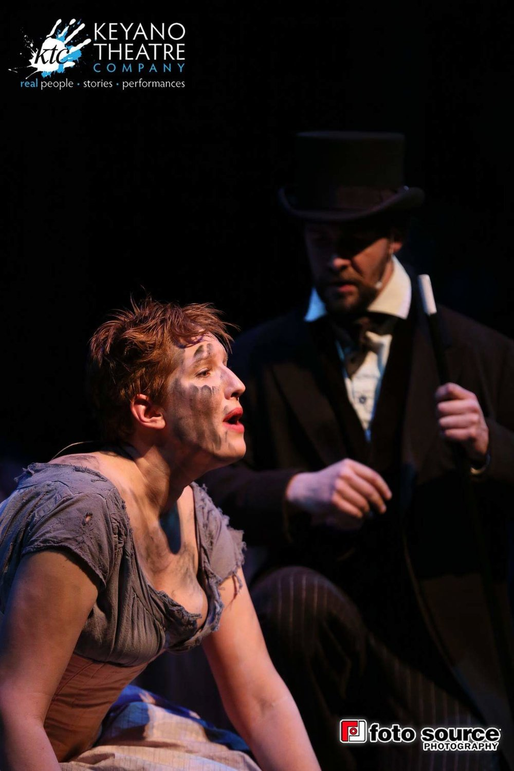 Jenny Price as Eponine Les Miserables Keyano Theatre Company