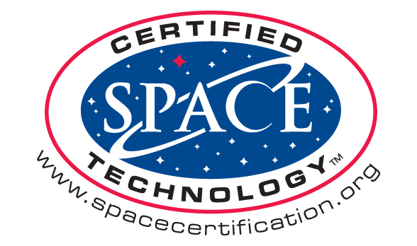 certified space technology seal
