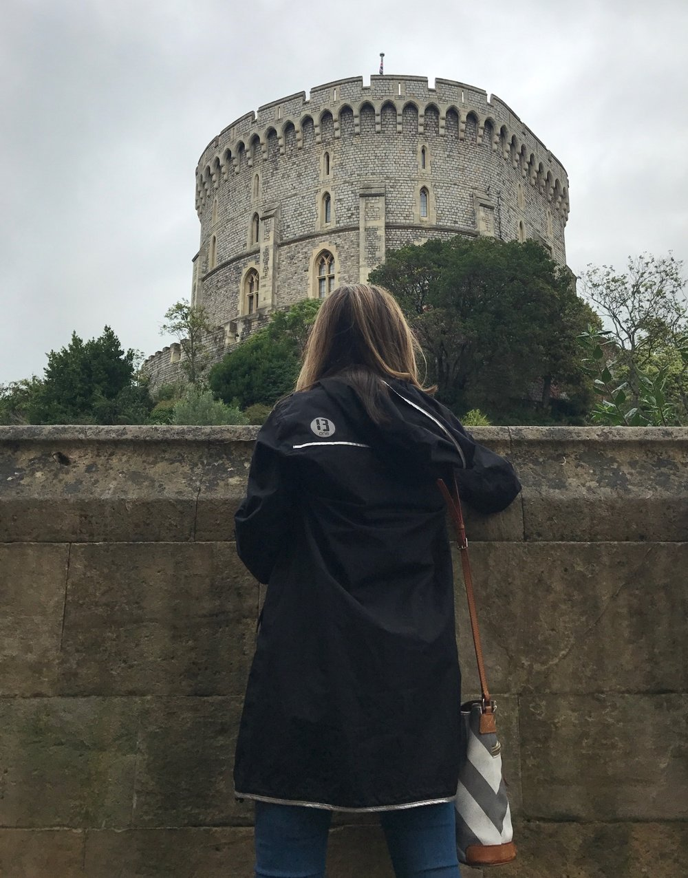 Admiring, Windsor Castle, London
