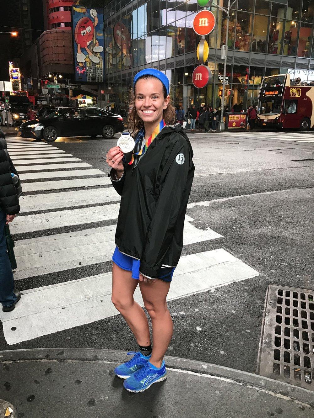 Recovering NY City Marathon! NY City