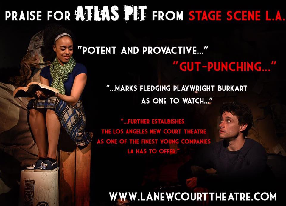 """Atlas Pit"" at LA New Court Theatre, 2016"