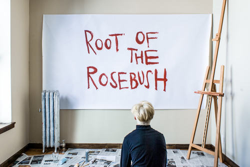"""Root of the Rosebush"" at Cloud City, 2014"