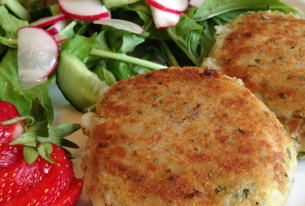 FishCakes for Lunch