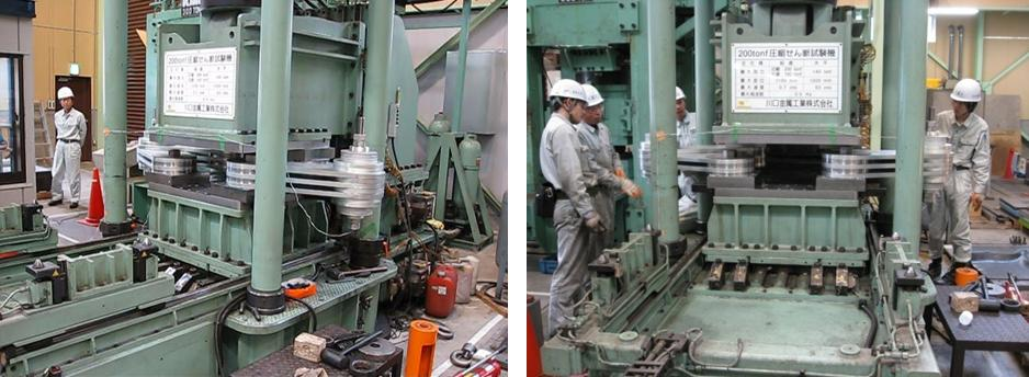 Bridge Damper Tests Japan