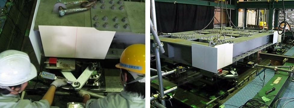Shaking Table Tests for Bridge Dampers at Kyoto University