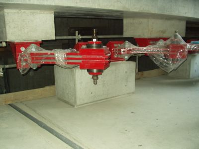 Base Isolation dampers installed in 46 storey high-rise residential tower in Japan