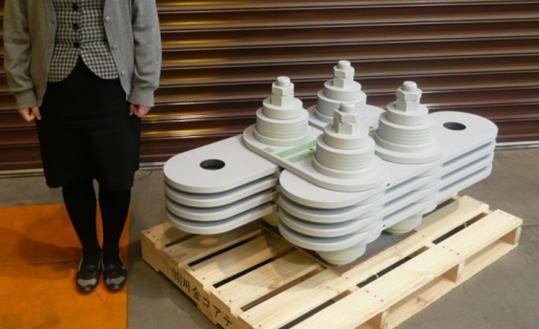 2250 kN Uni-Directional Damper