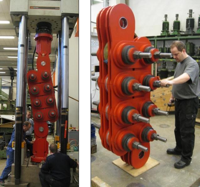 5000 kN Uni-Directional Damper