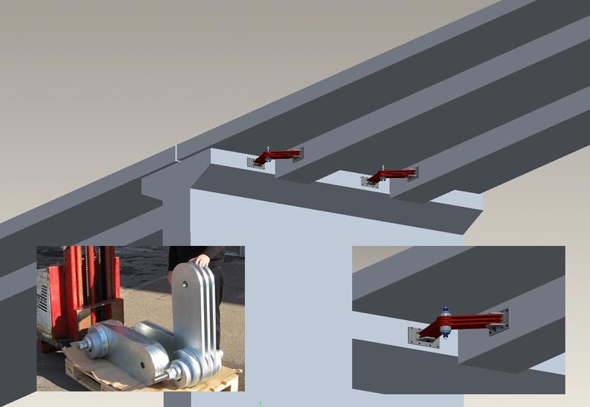 Dampers for Elevated Highways