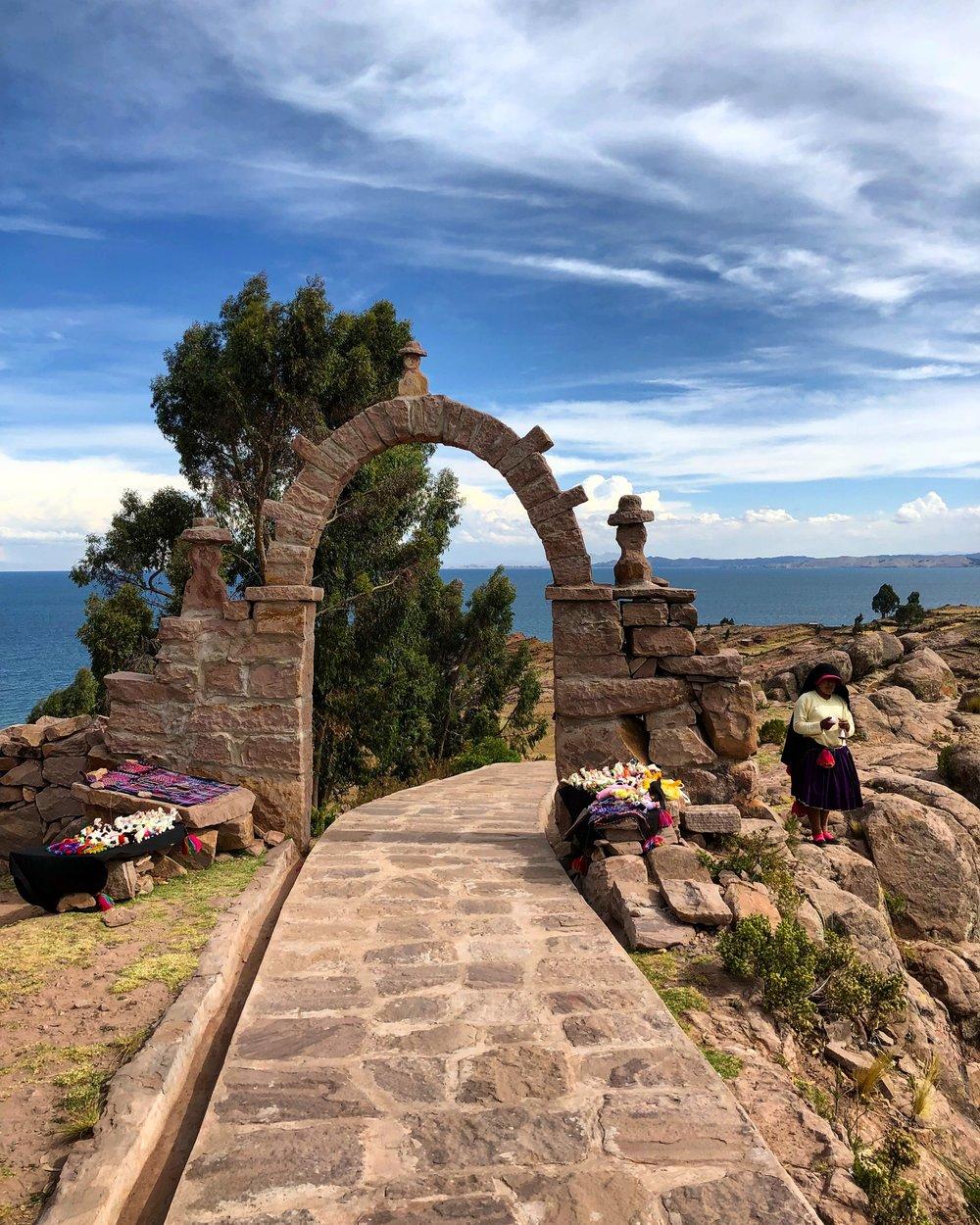 Taquile Island / Lake Titicaca / Peru