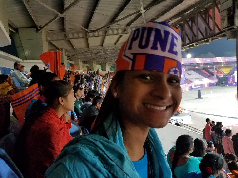 Pro Soccer Game  -  Sponsor  a trip for 40 girls to a professional Pune City Soccer Game! It's another opportunity for the girls to get out of slum environment, have fun and begin their vision for a thriving future. Full Sponsor $300, Co-sponsor $150