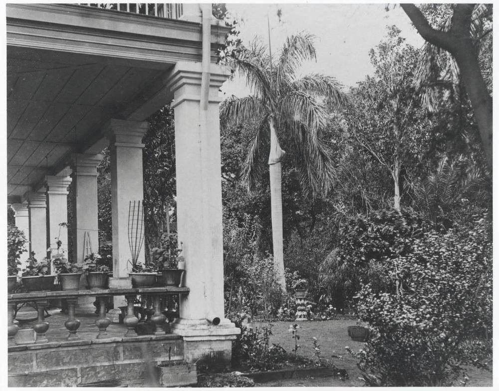Washington Place, Honolulu, Hawaii, 1886.   Bishop Museum