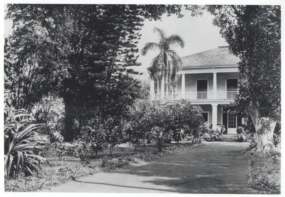 Front exterior.   Hawaii State Archives