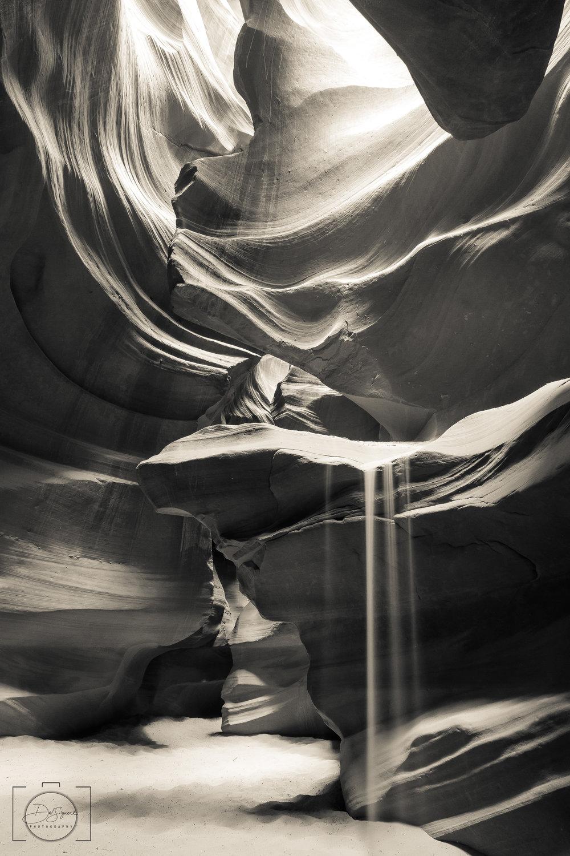 """Sandfall"" - Upper Antelope Canyon"