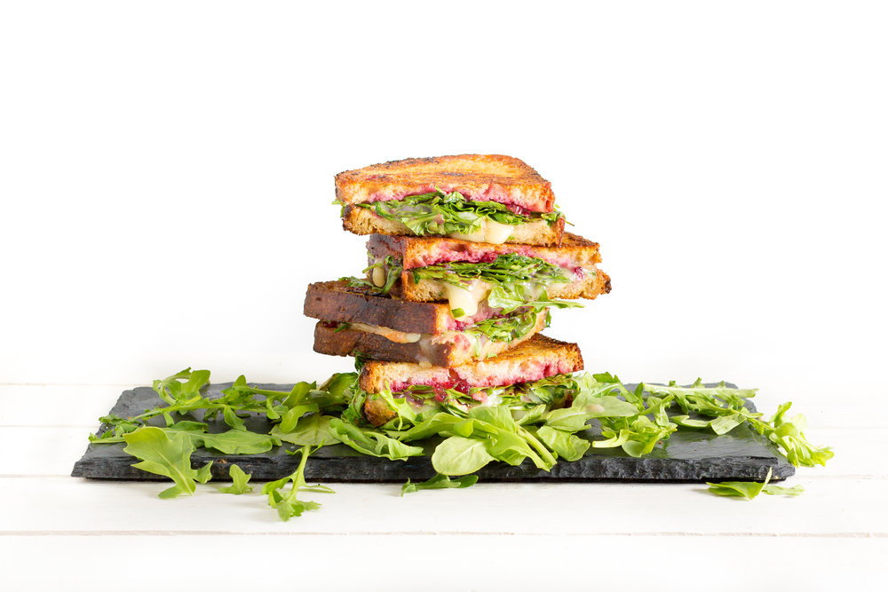 Cranberry Chutney and Gruyere Grilled Cheese