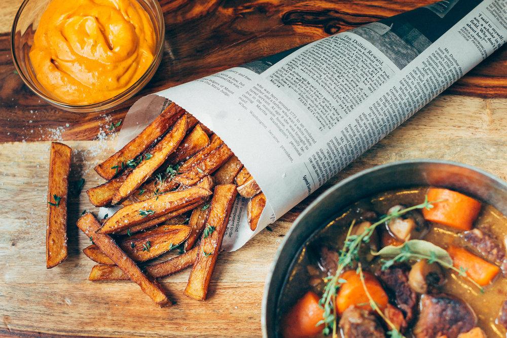 Belgian-Style Fries -