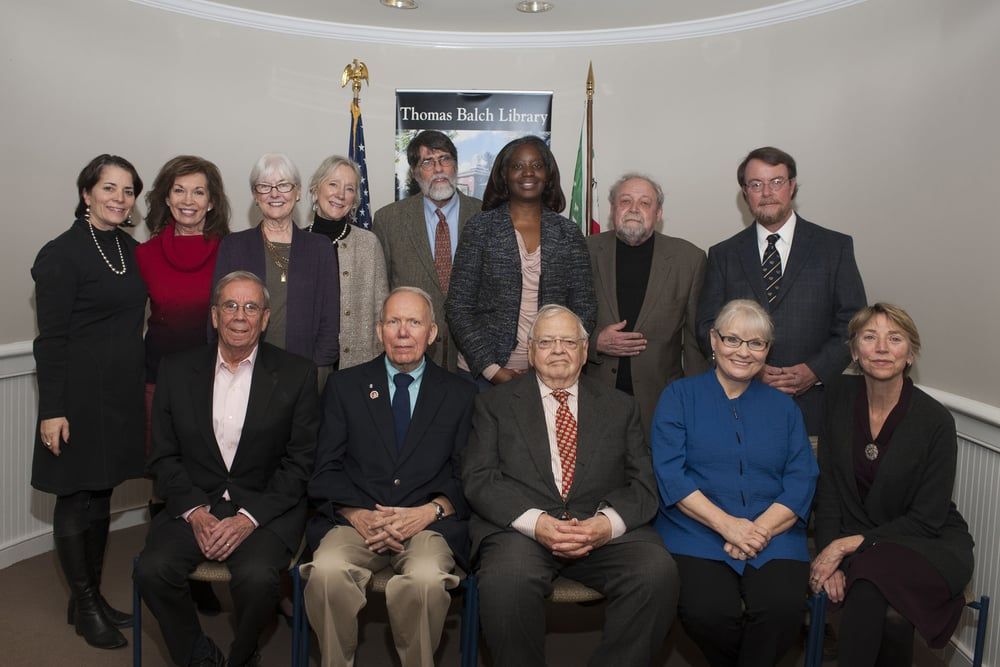 The Friends 2016 board of directors includes the individuals pictured above:  front row from left—Francis Fera (secretary), Donald G. Cooper, PhD (president), James Lucier, Patty Rogers-Renner, Lee Lawrence. Back row, from left—Sarah Huntington (vice president), Sharon Parker, Susan Webber, Dorothy Shetterly, Perry Epes, Donna Bohanon, Ron Rust, and Richard Gillespie. Not pictured: Brock Bierman, Jeffrey Bolyard (treasurer), Lewis Leigh, Jr., William Ray, and Suzi Worsham.