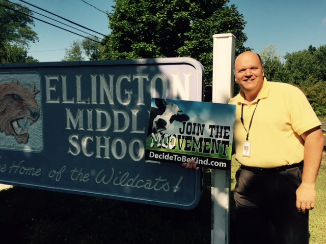 Principal David Pearson, Ellington Middle School