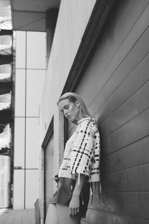 Michelle Schermer by Anne Carolien Kohler for One Magazine