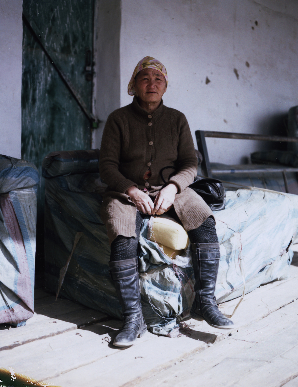 Mongolian Cashmere Goat Herder
