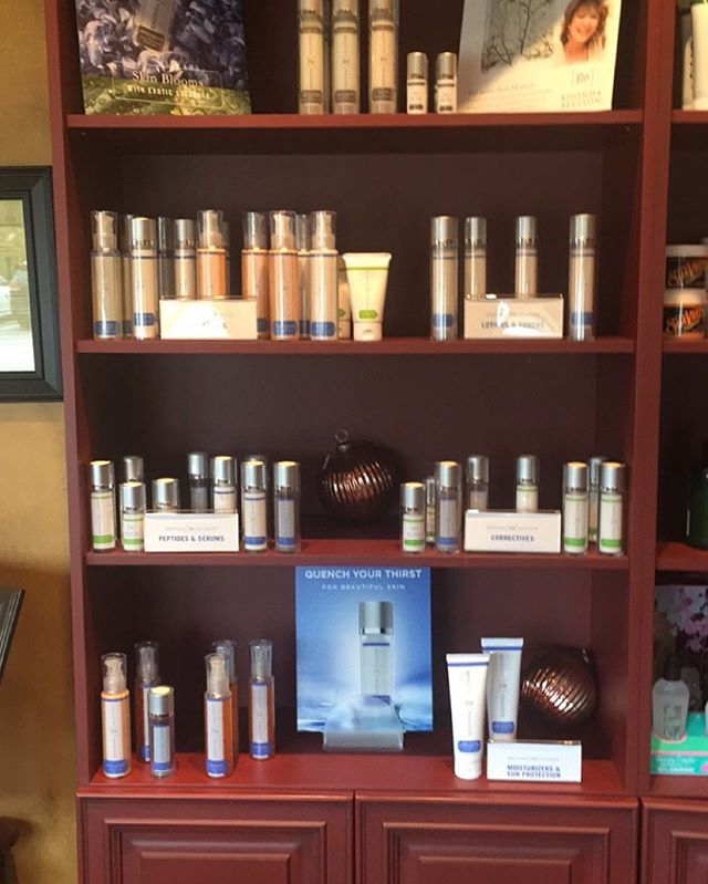 Come check out our new skincare line! @rhondaallison #rhondaallisonskincare