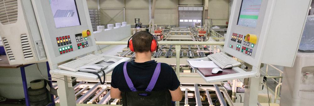 Atronix Engineering, Atronix SCADA, ASCADA, Features and Benefits, man working in factory, atronixengineering.com