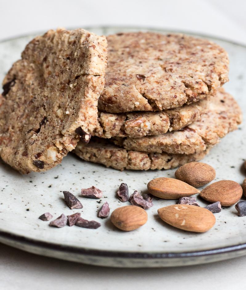Almond pulp raw cookies recipe