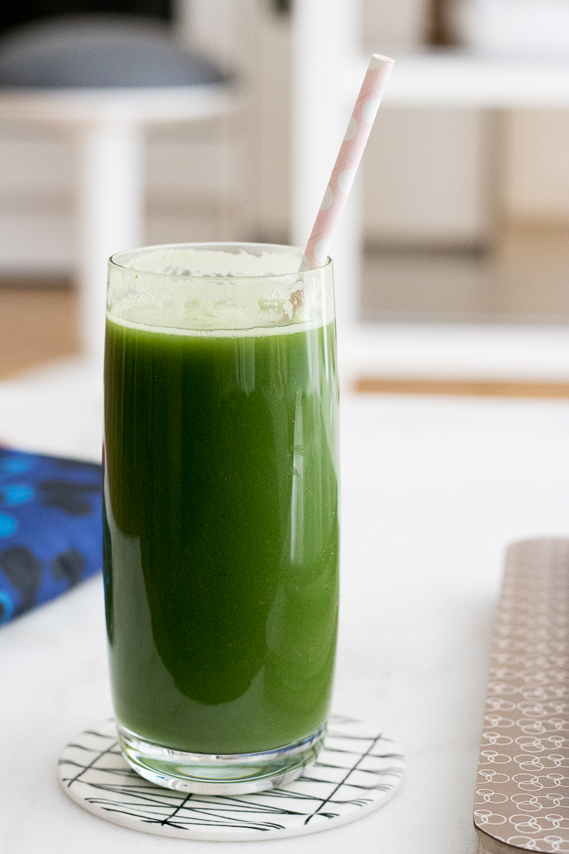 raw green juice