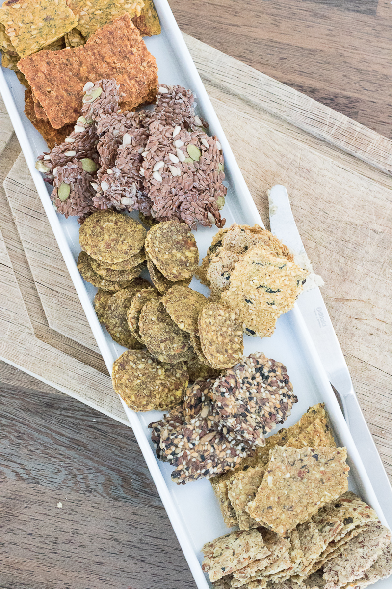 raw vegan crackers