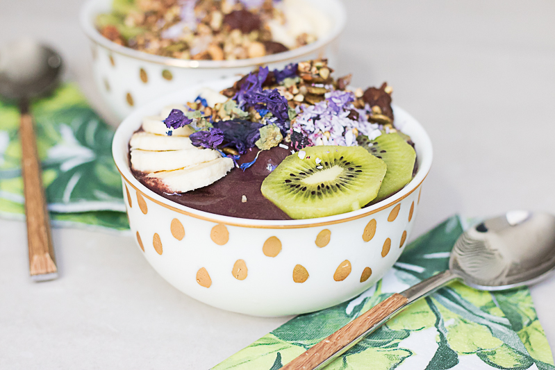 Amazingly delicious Açaí bowl