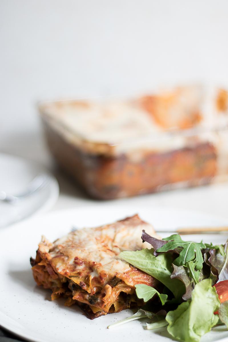 Easy tomato lasagna