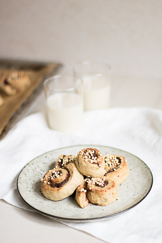 Vegan gluten free Cinnamon buns