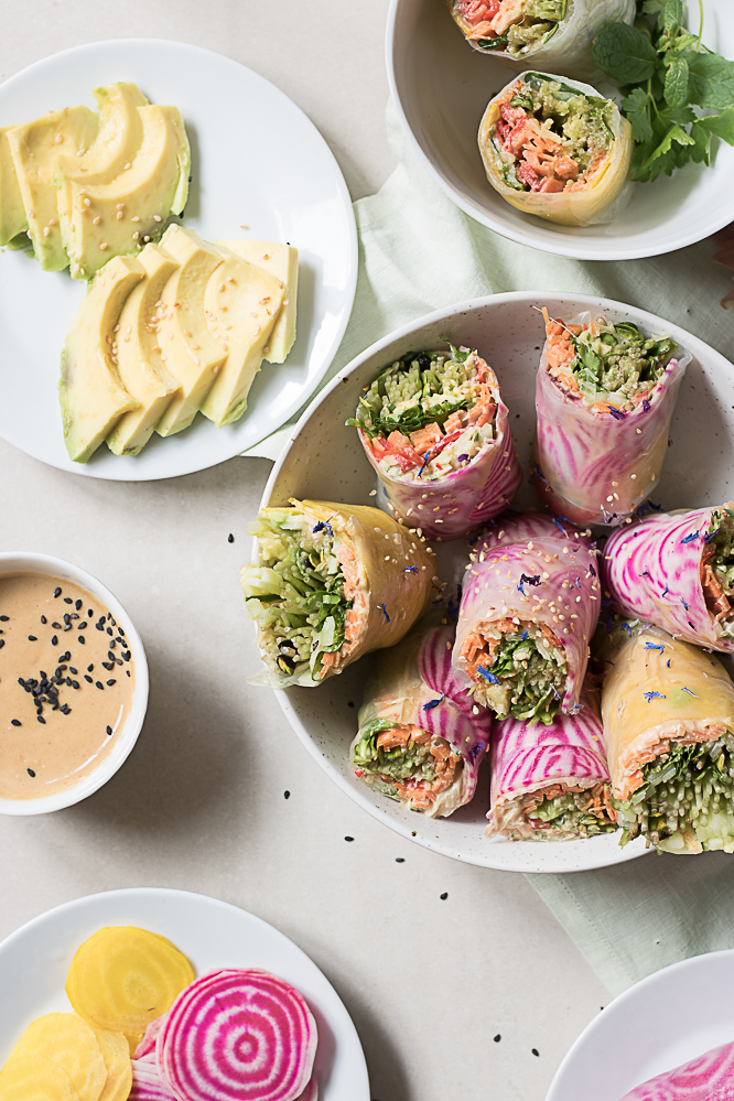Magical summer rolls recipe