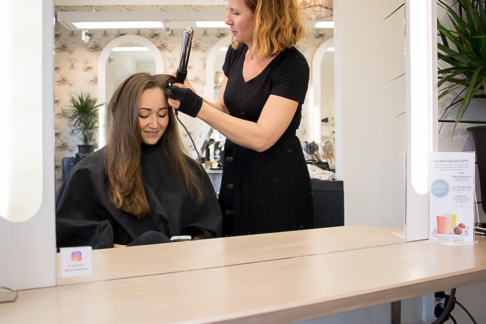 Vårda håret på riktigt med grön salong