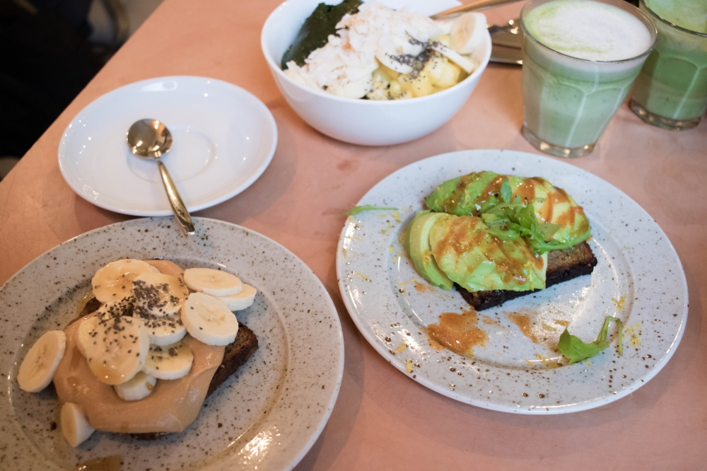 Mys-lunch på nya Pom & Flora odengatan