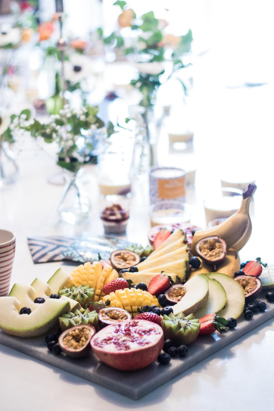 Catering uppdrag - Vegansk ekologisk frukost