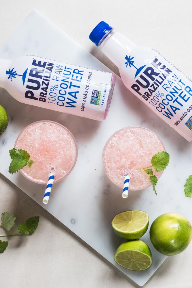 Pure Brazilian Coconut Water - RECEPT UTVECKLING