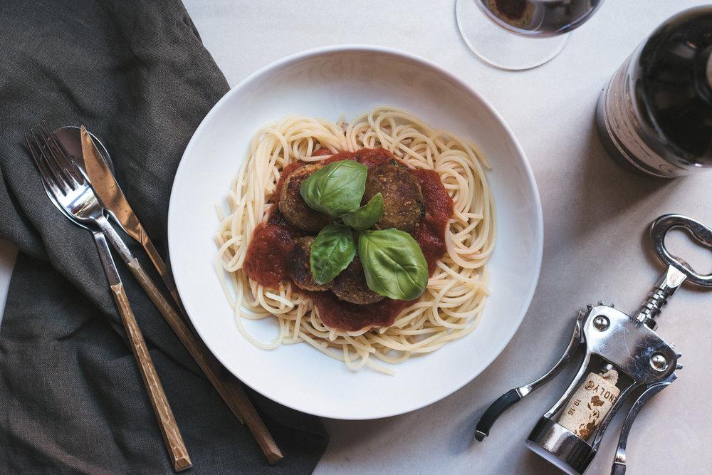 Vegan GF Italian meat balls