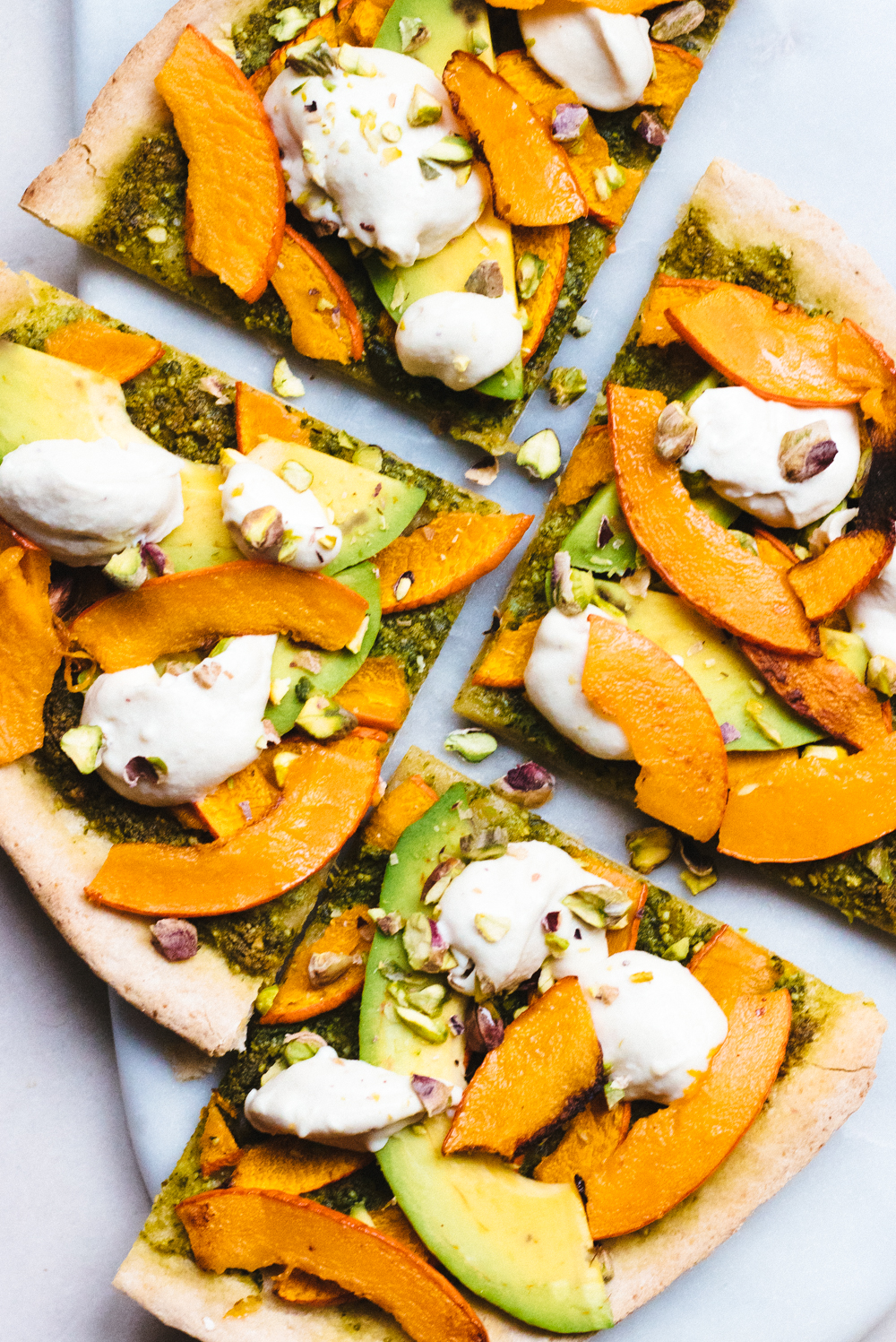Vegan Pumpkin Pizza