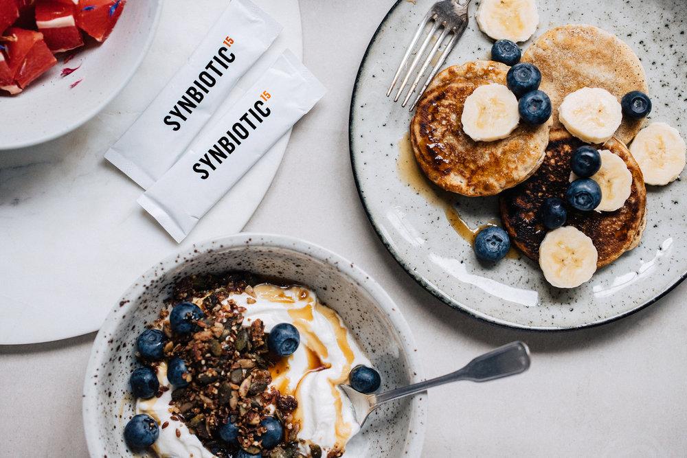 Veganska pannkakor + 3 tips för en god tarmflora!